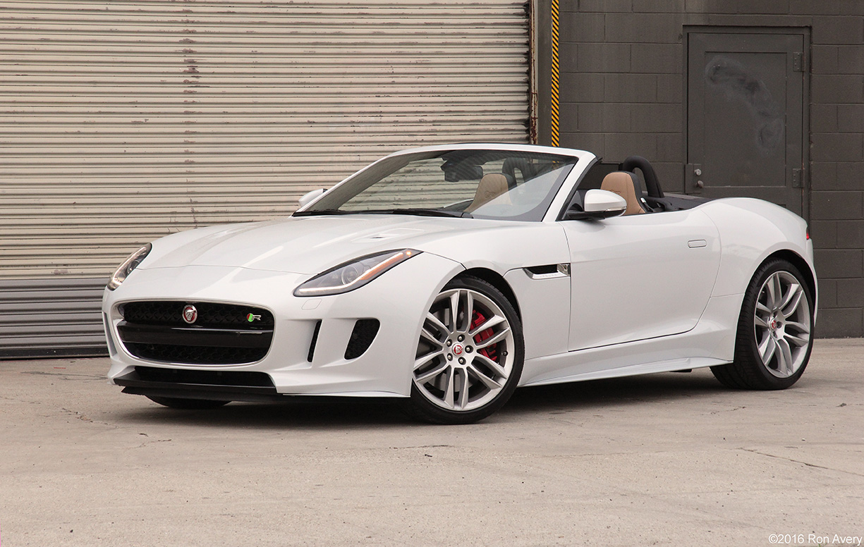 2016 Jaguar F-Type R AWD Convertible Review