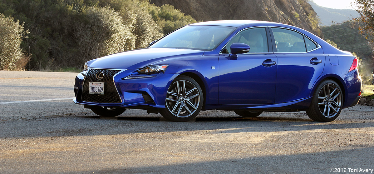 2016 Lexus IS 350 F SPORT Review