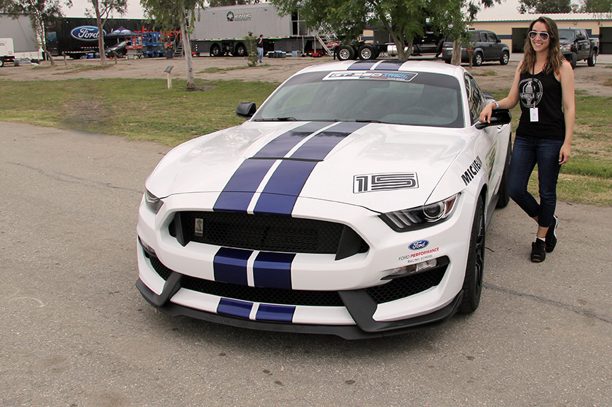 2016 Shelby GT 350 Track Attack