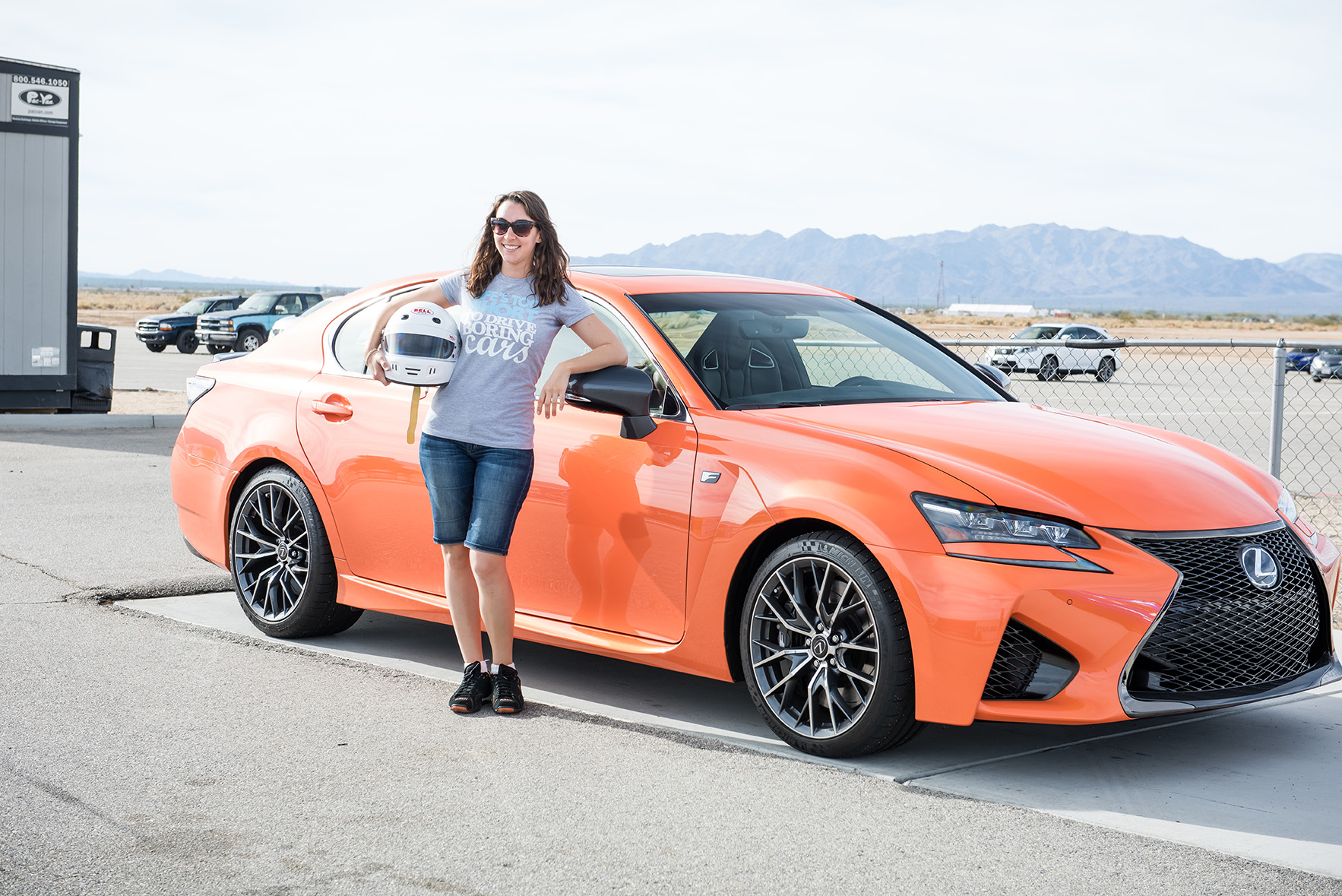 Lexus Heels & Wheels Performance Drive With The GS F and RC F
