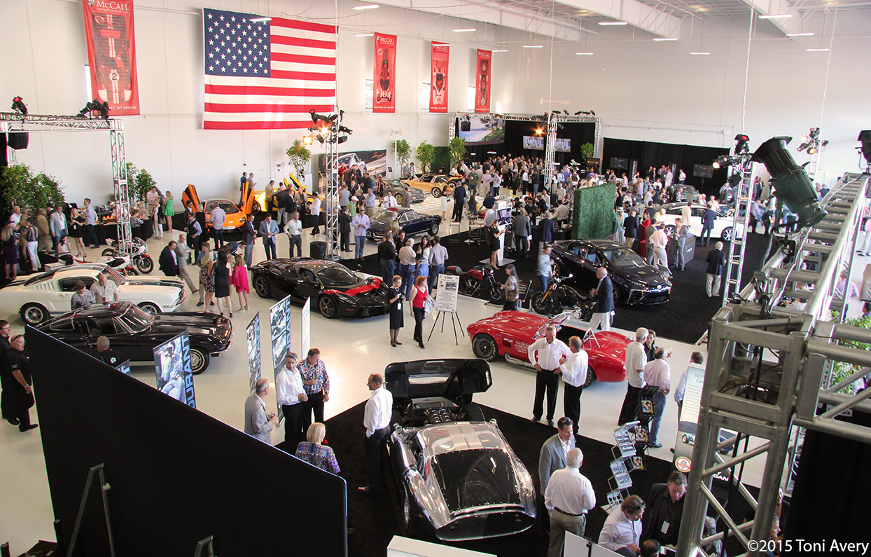 2015 Gordon McCall's Motorworks Revival Kickoff Party, Monterey Car Week