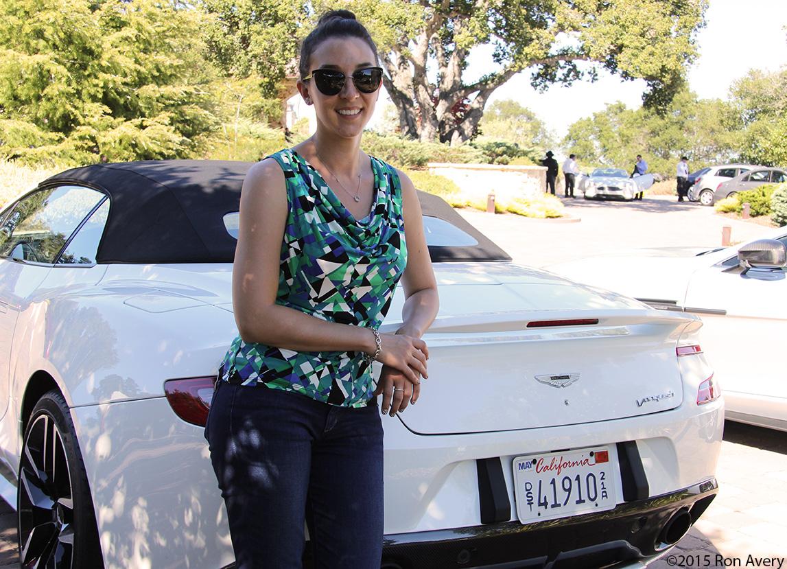 Aston Martin Vanquish Volante Short Drive, Monterey Car Week