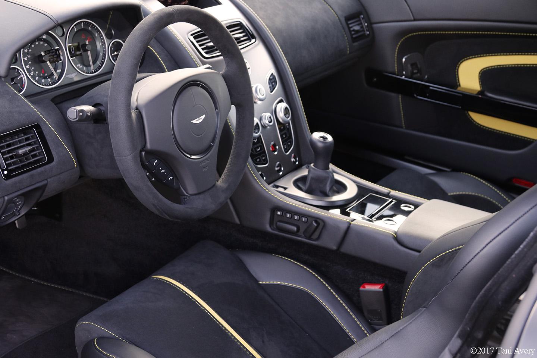 2017 Aston Martin V12 Vantage S Interior Girlsdrivefasttoo
