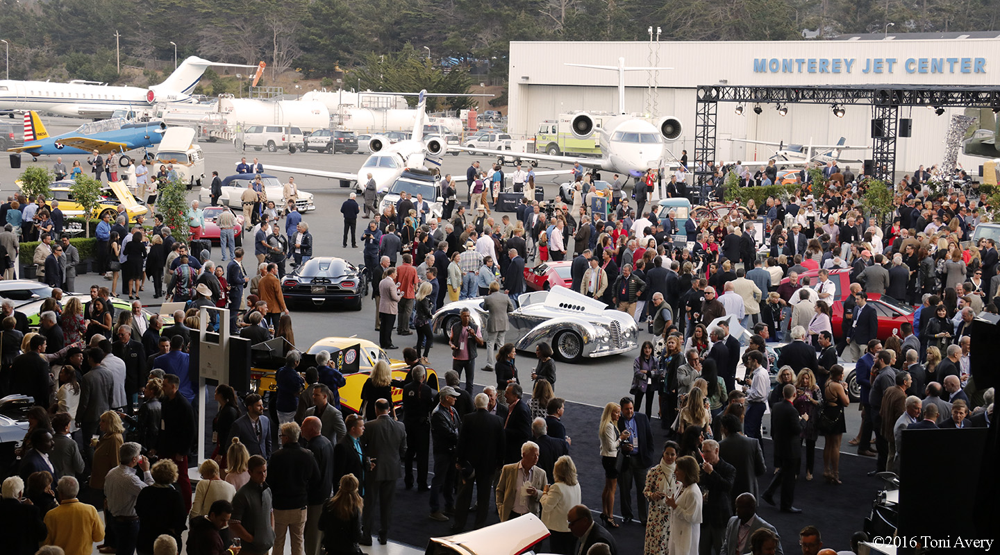 Gordon McCall's Motorworks Revival Kickoff Party 2016, Monterey Car Week