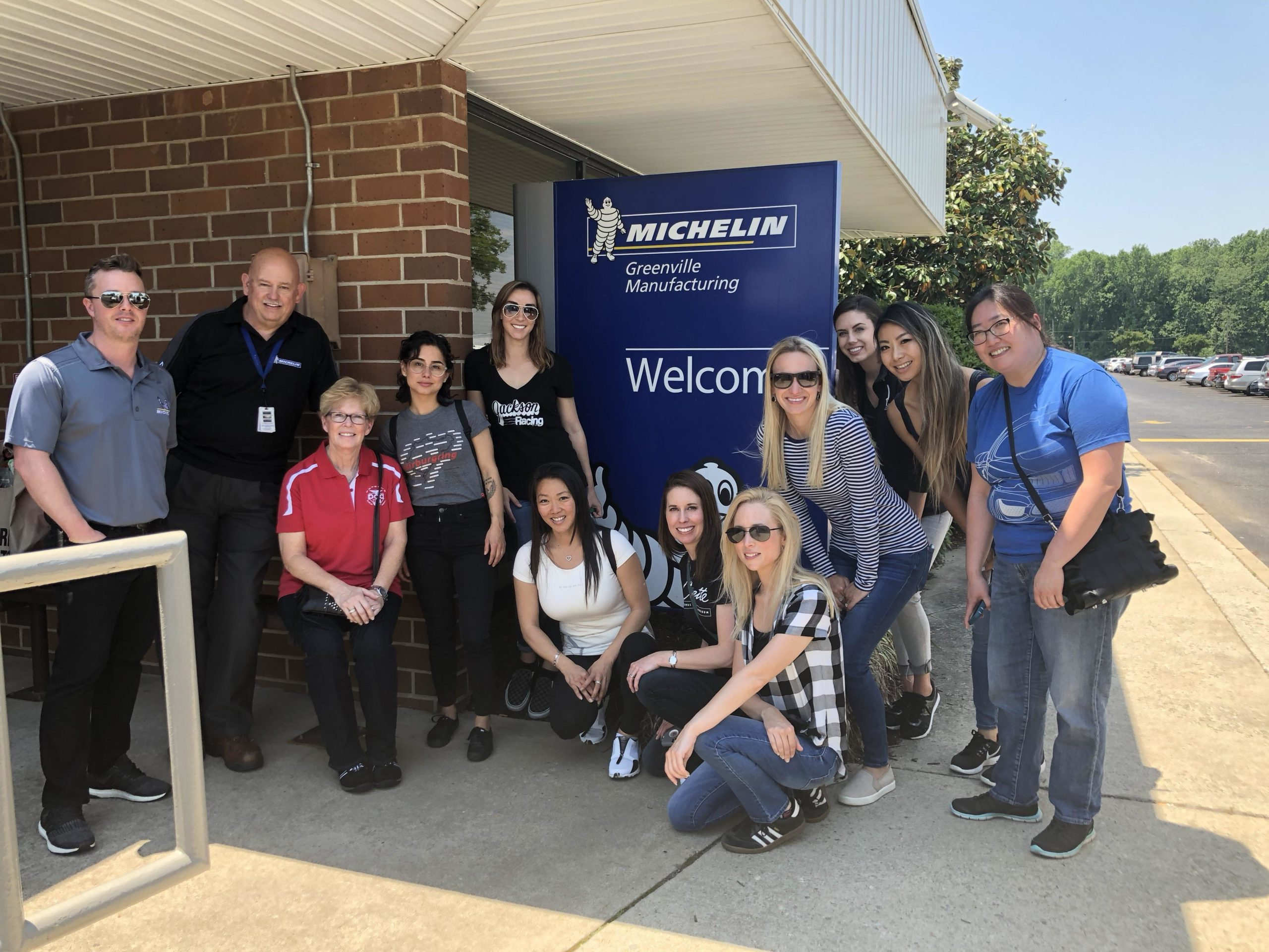 Michelin #WomenInDrive Tire School